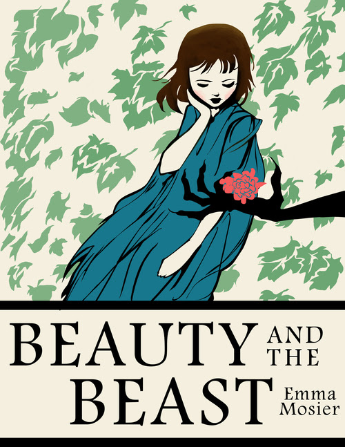 Beauty and the Beast front cover Photoshop 2014