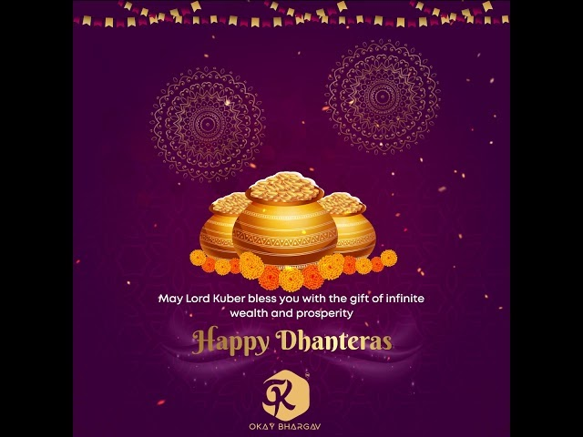 Dhanteras Free After Effects template 03 - After Effects - Okay Bhargav