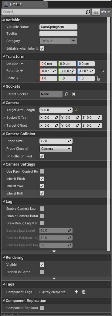 Converting the top down camera to rpg style camera