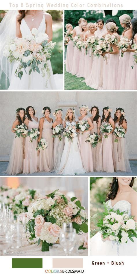 Top 8 Spring Wedding Color Palettes for 2019