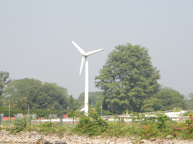 Windmill near Sukhna Lake, Chandigarh