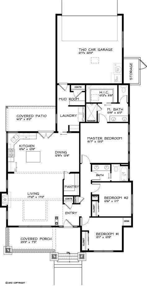 casa de tres dormitorios   planos de casas gratis