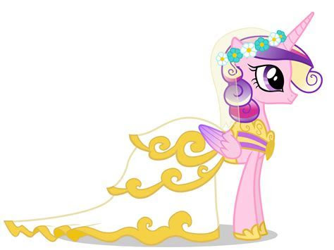 mlp princess cadence wedding Printable