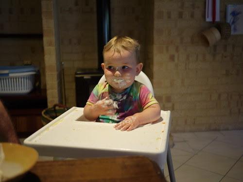 Bern and the yoghurt