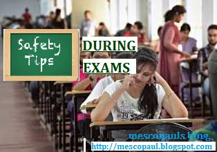 safety tips during exams