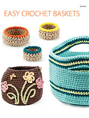 Easy Crochet Baskets