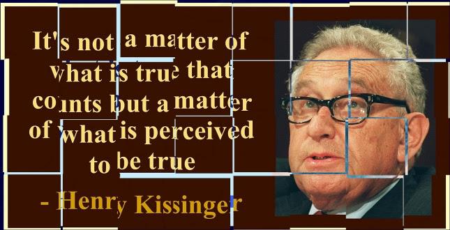 kissinger true perceived
