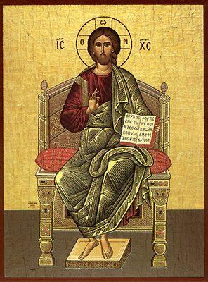 Imagini pentru IISUS pe tron