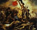 Delacroix. La Libertad Guiando al  Pueblo. Ver información