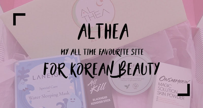 Althea is my all time favourite site for Korean beauty