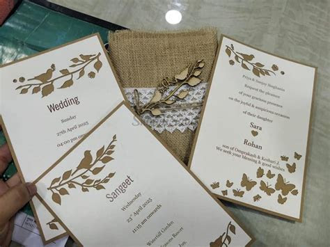 elite wedding cards and packing   Wedding Invitations in