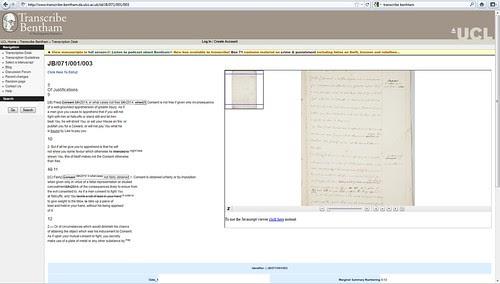 Bentham Papers Transcription Initiative / University College London