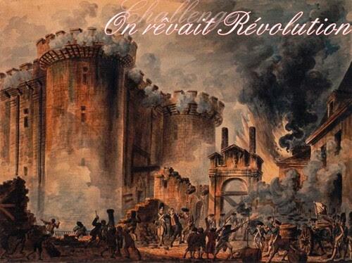"""Challenge """"On rêvait Révolution"""" organisé par Dakness Turns Me On"""
