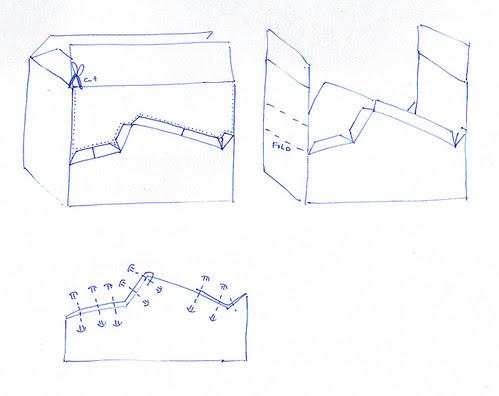 How to build a cardboard car sketch