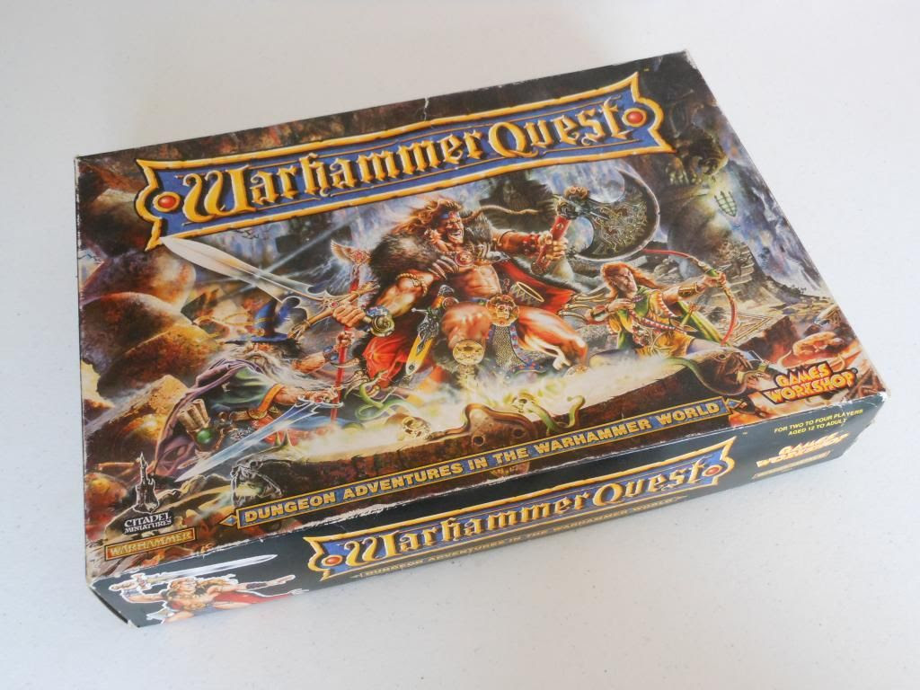 Warhammer Quest box
