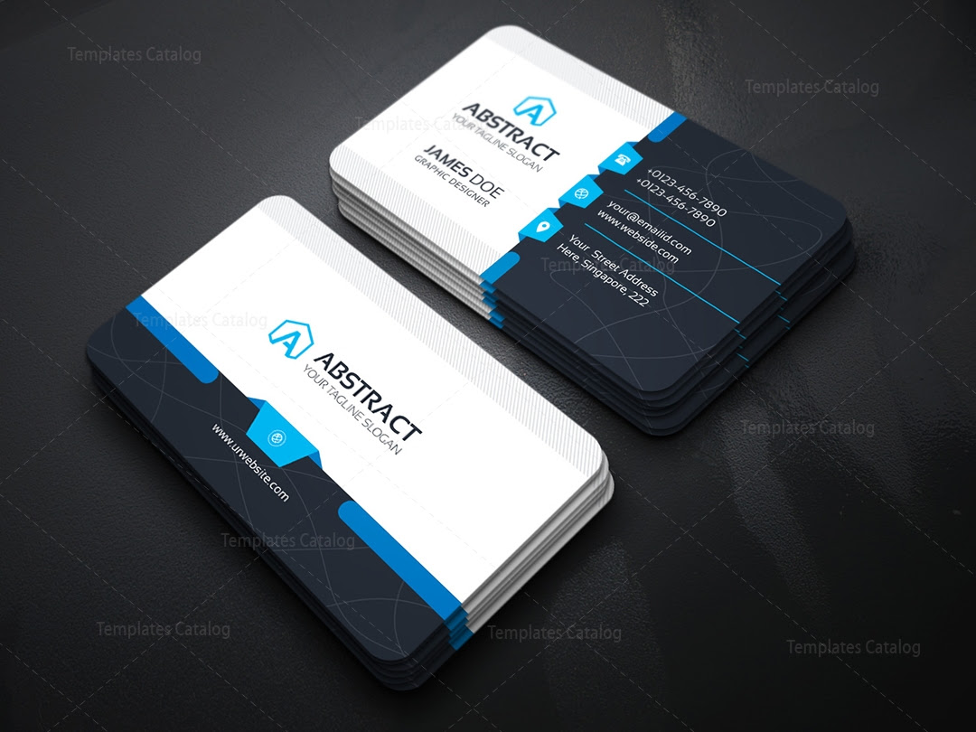 01_Technology Business Card 2