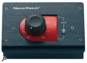 Truly transparent active controllers are inherently expensive things to buy, so apassive monitor controller could be abetter-value option to consider if you are concerned about colouring the sound. The SM Pro NanoPatch+ is a simple volume control, while the Presonus Central Station offers speaker and input switching too.