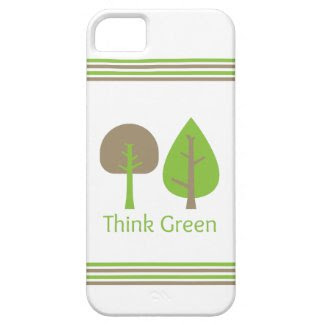 Think Green iPhone 5 Cover