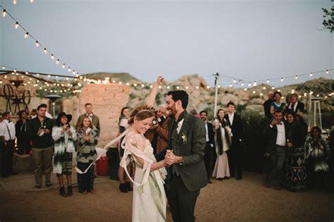 Joshua Tree Wedding at The Ruin Venue: Krystal   Josh