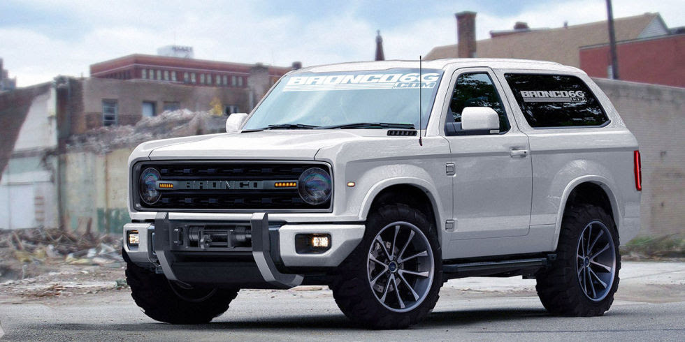 ... Ford Bronco Unlikely to be One of the Four SUVs that Ford Motor