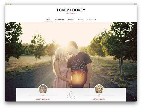 30  Best WordPress Wedding Events & Marriage Themes 2019