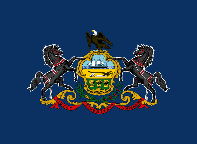 Flag of the Commonwealth of Pennsylvania