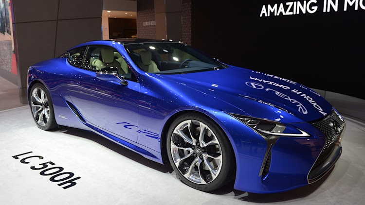 2018 Lexus LC 500h: Geneva 2016 Photo Gallery - Autoblog