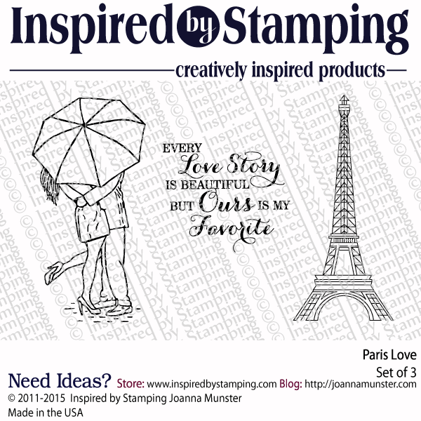 Inspired by Stamping Paris Love stamp set