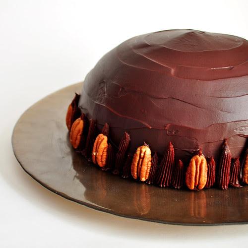 Chocolate Frozen Mousse Bomb