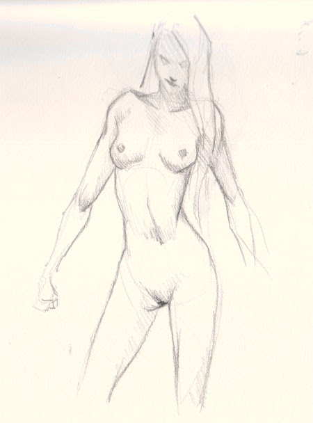 learn how to draw woman body