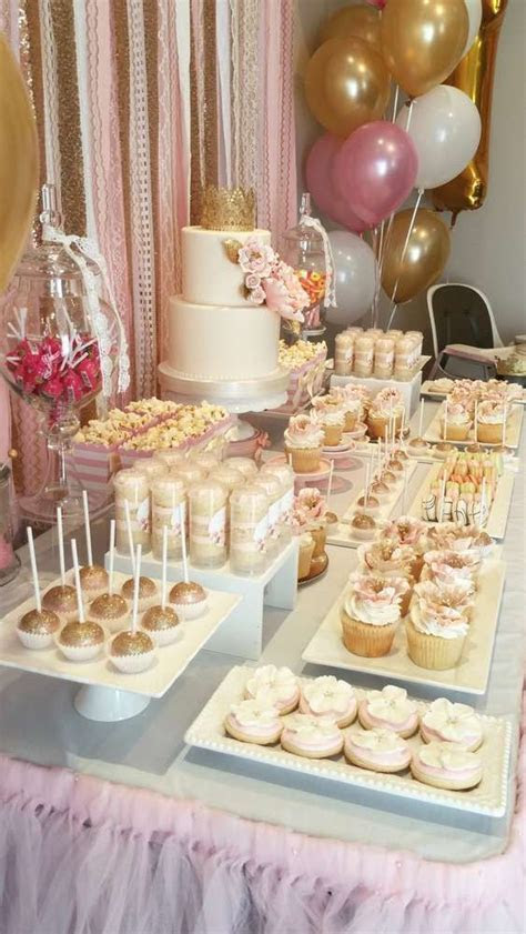 Pink and Gold Birthday Party Ideas   Everything Birthday