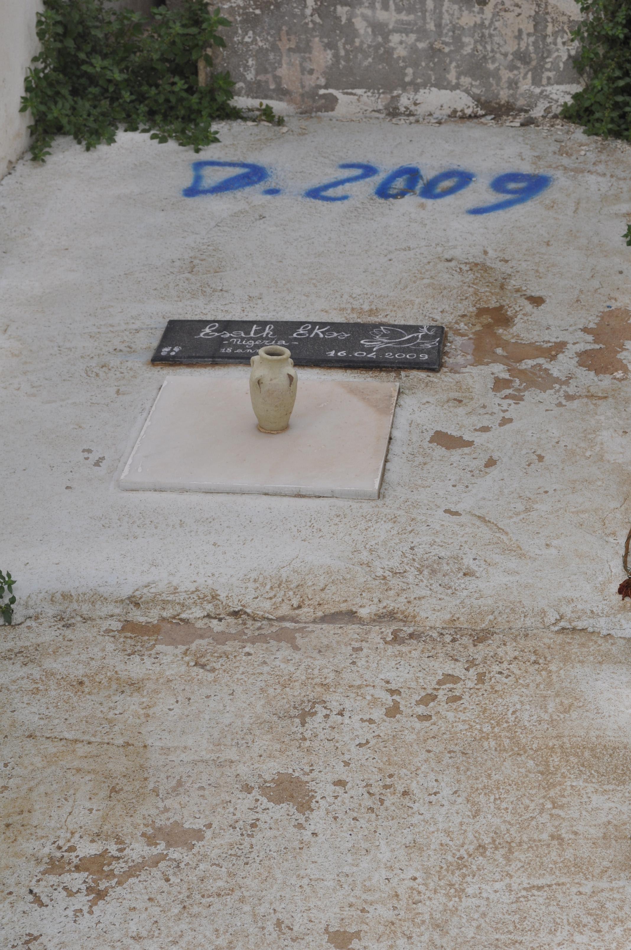 Le tombe senza nome di Lampedusa