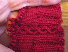 Chalet sock - alteration