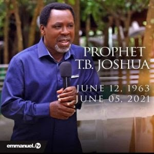 Snr Prophet TB Joshua has touched millions of lives around the Globe, He Is A Good Man, -says Popular Nigerian Billionaire Prophet, Jeremiah Fufeyin (Video)