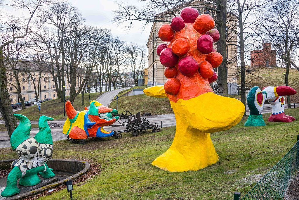 Niki de Saint Phalle at the Moderna Museet in Stockholm.jpg