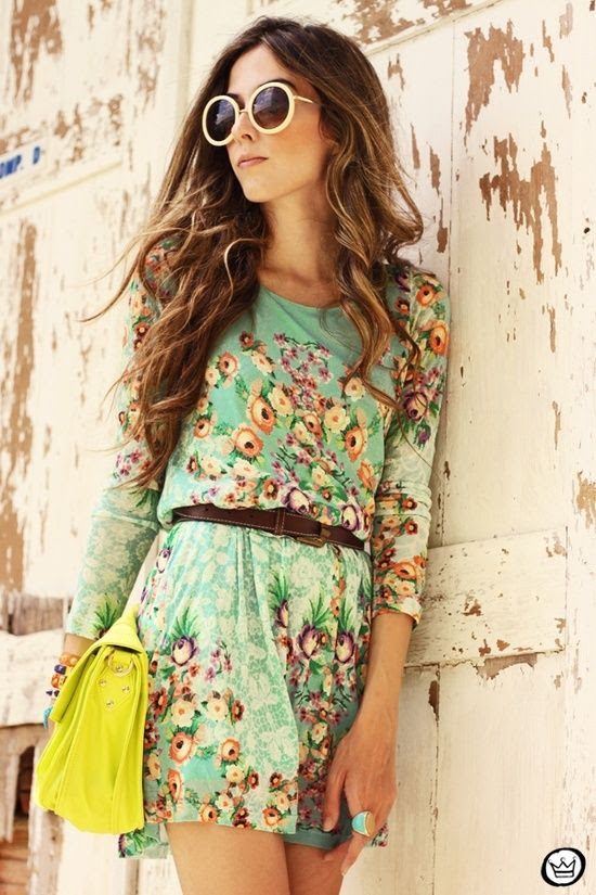 I think that this is such a cute dress!! I love floral EVERYTHING.