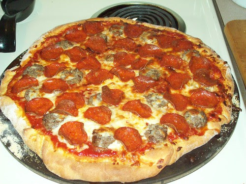 Pizza from scratch