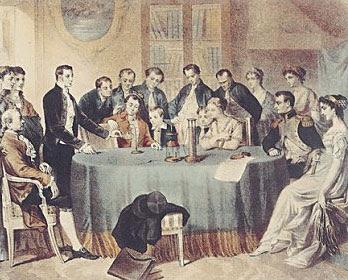 Alessandro Volta, fundador da  eletricidade moderna