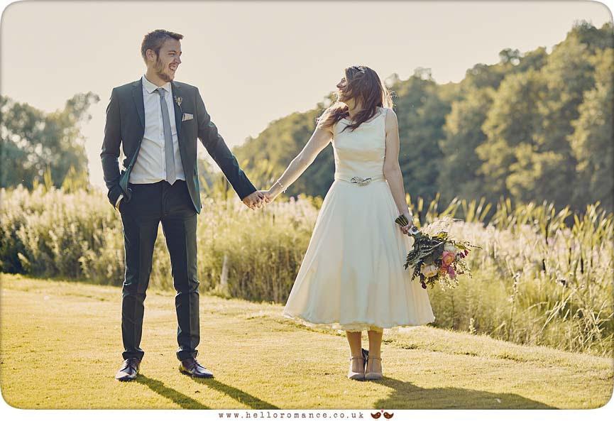 2015 Essex wedding lake photo - www.helloromance.co.uk
