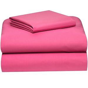 Amazon.com: Extra-long Twin Sheet Set, Deep Pink: Home & Kitchen