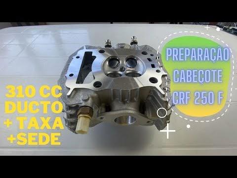 🛠 O que você precisa saber- Preparação de Cabeçote CRF 250F - Motor 310 cc ‼