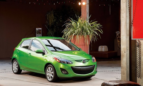 Electric Mazda2 coming to Japan in 2012, no you can't drive it