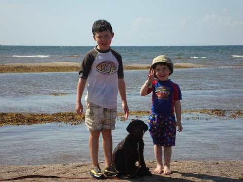 kids with Eva