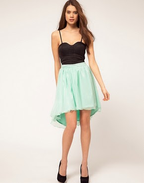Image 1 ofRare Corset Dip Hem Dress