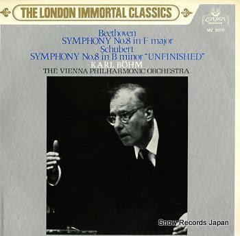 BOHM, KARL beethovenn; symphony no.8 in f major