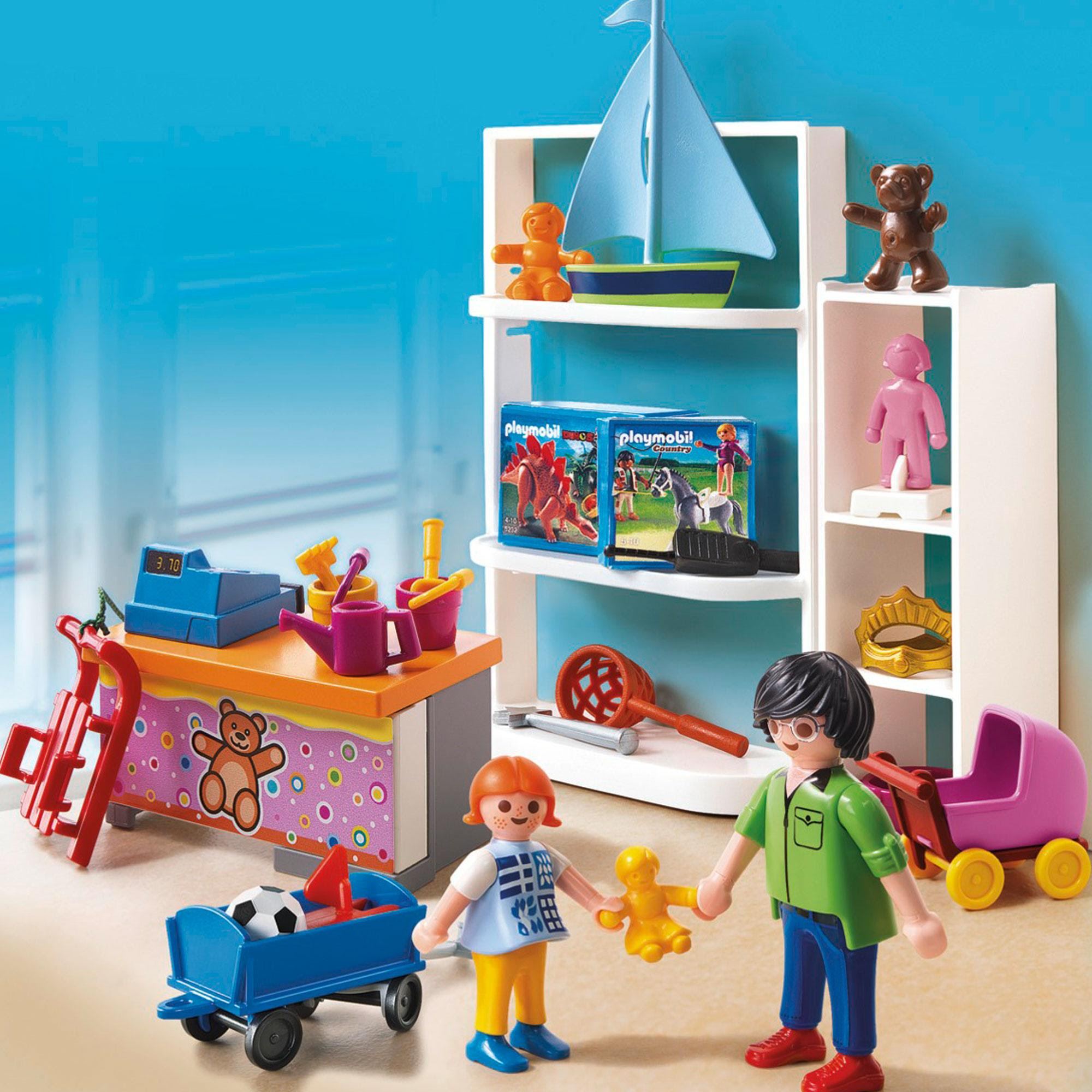 Playmobil City Life Toy Shop