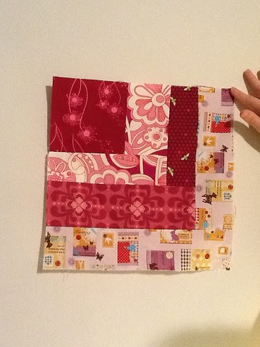 Quilt block for Bluenail
