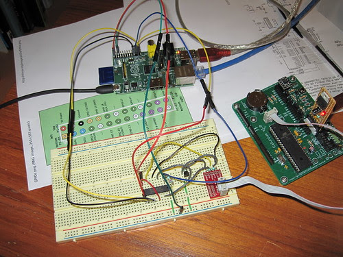 Atmel ISP programming from Raspberry Pi GPIO