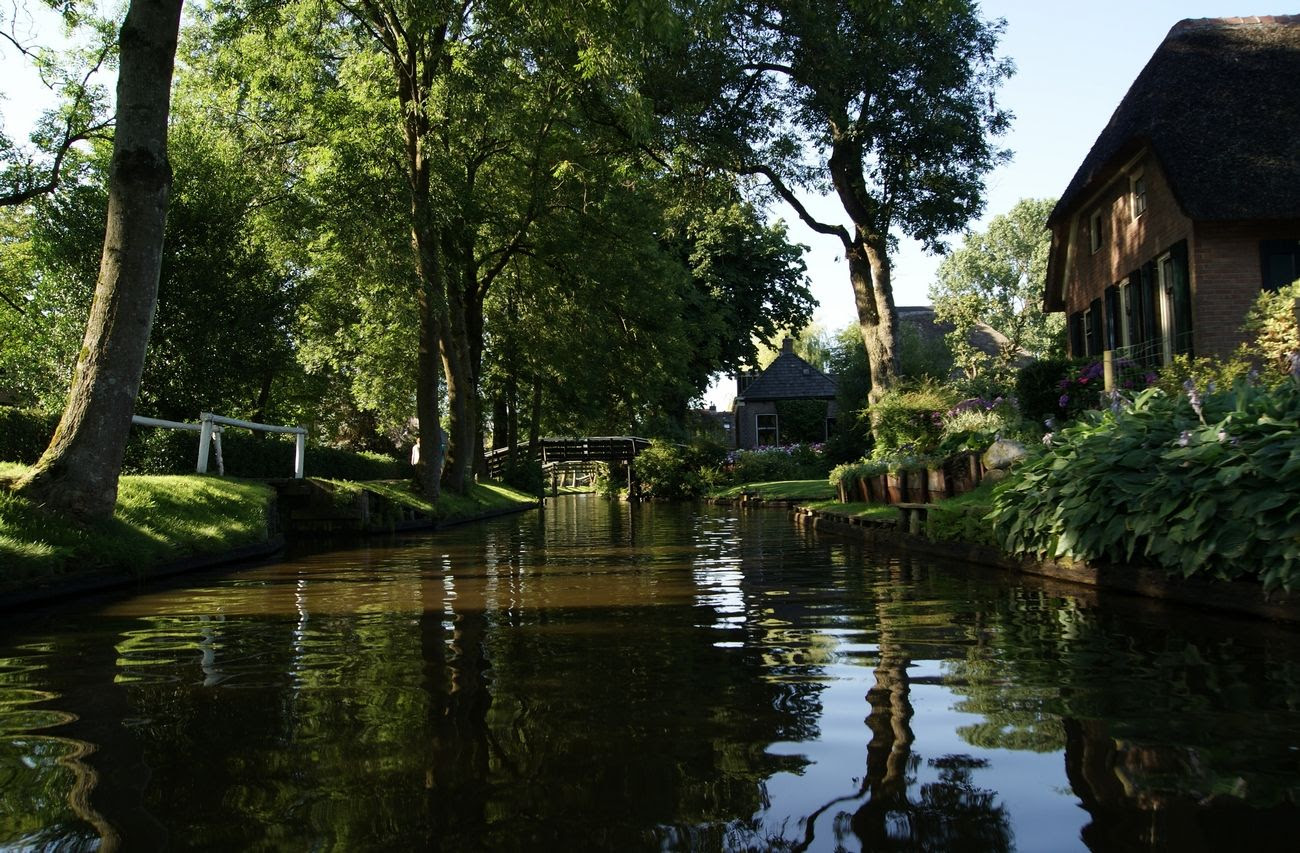 7.8, Spent a wonderful week on holiday in Giethoorn,NL. They call it the Venice of The Netherlands because a large part of the town has canals instead of roads. You can rent electric boats and tour the area. We rented a wonderful cottage on the lake and had the best time!