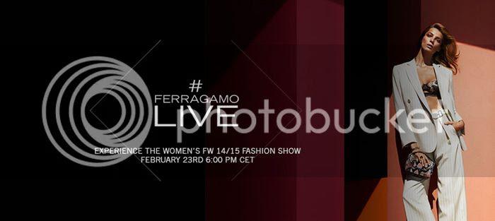 Salvatore Ferragamo Women fall winter 2014/15 show livestream